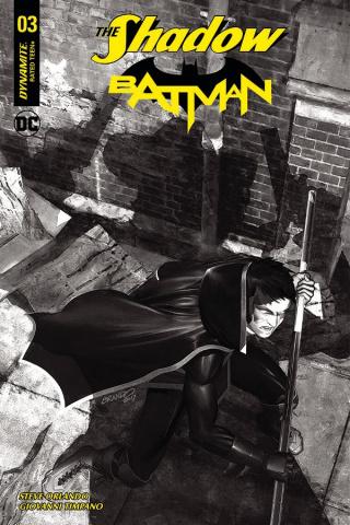 The Shadow / Batman #3 (40 Copy Peterson Cover)