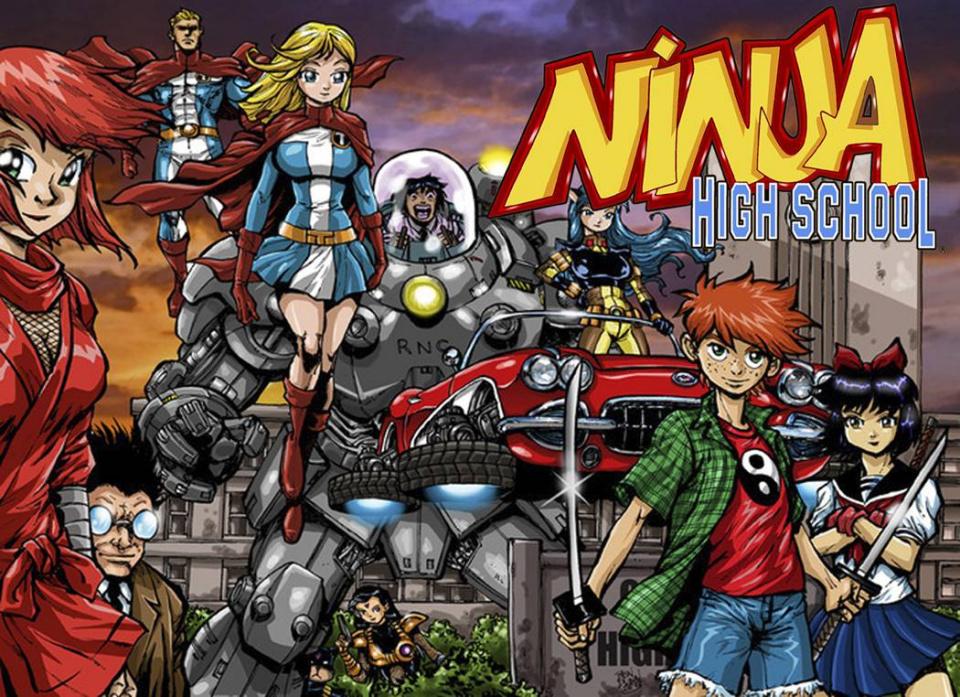 Ninja High School Vol. 2