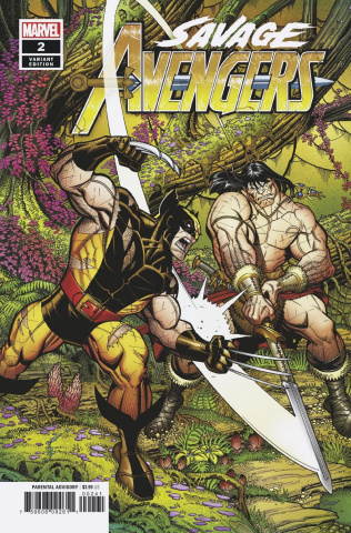 Savage Avengers #2 (Bradshaw Cover)