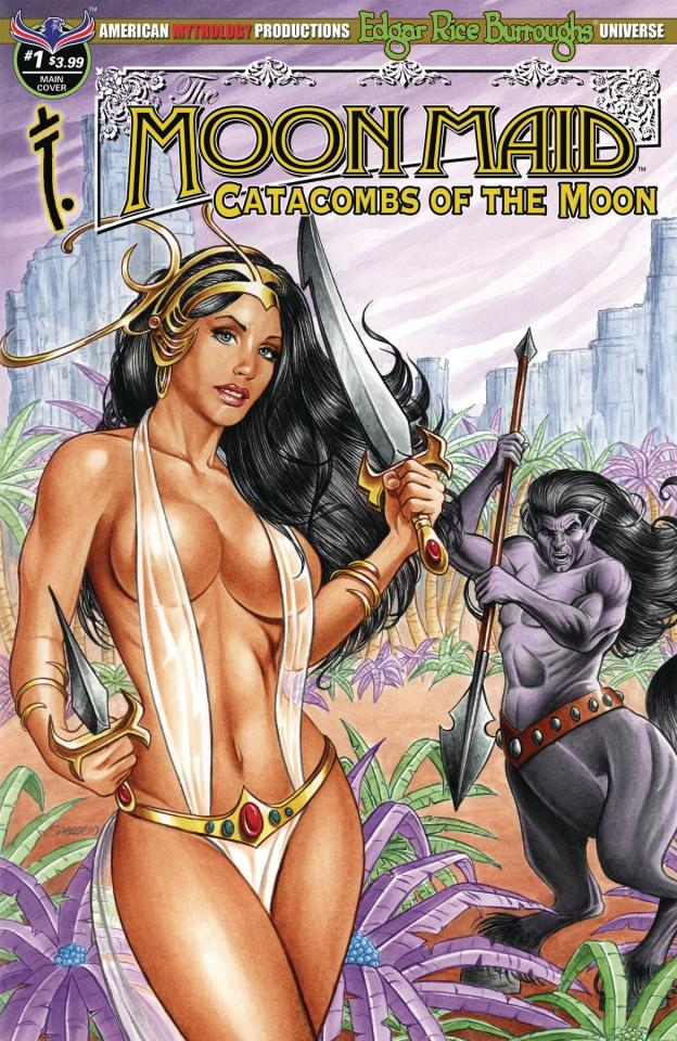 Moon Maid #1 (Sparacio Cover)