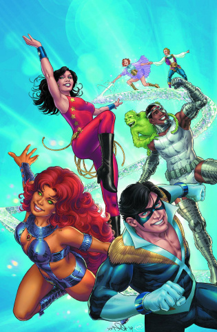 Convergence: The New Teen Titans #1