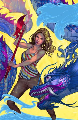 Buffy the Vampire Slayer, Season 11 #1 (Morris Cover)