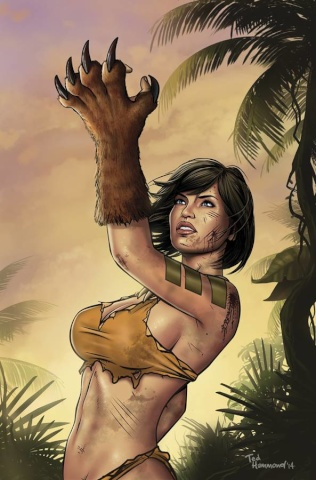 Grimm Fairy Tales: The Jungle Book - Fall of the Wild #5 (Hammond Cover)