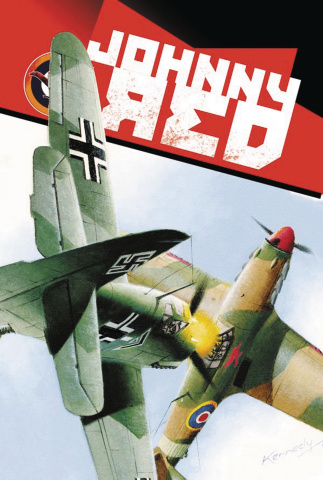 Johnny Red #8 (Kennedy Cover)