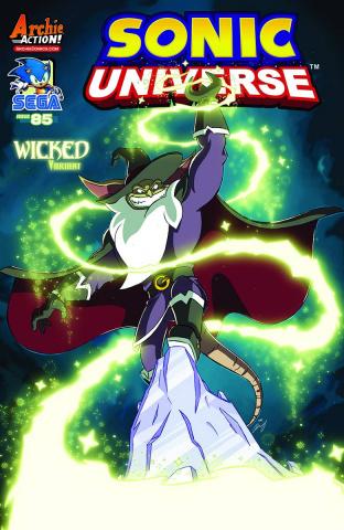 Sonic Universe #85 (Dan Schoening Cover)