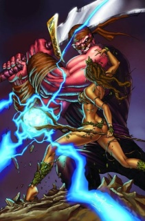 Grimm Fairy Tales #67 (Qualano Cover)