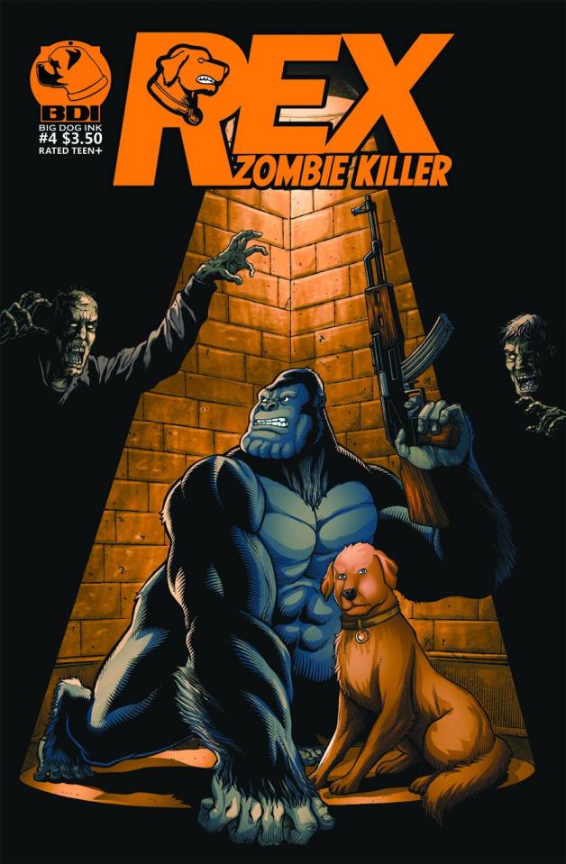 Rex: Zombie Killer #4