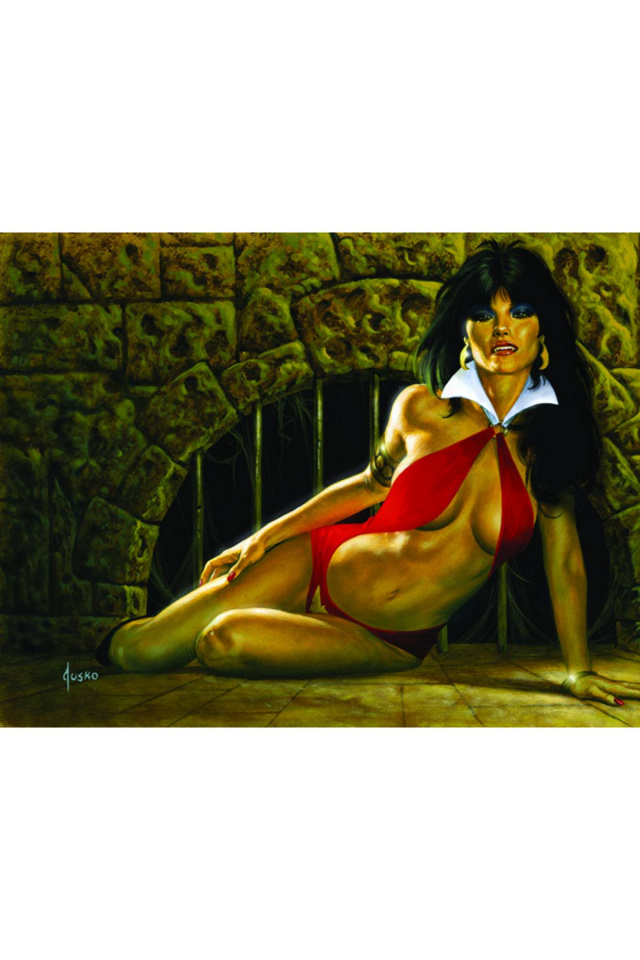 Vampirella: Feary Tales #1 (Jusko Virgin Cover)