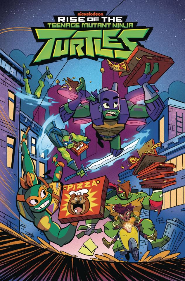 Rise of the Teenage Mutant Ninja Turtles Vol. 2: The Big Reveal