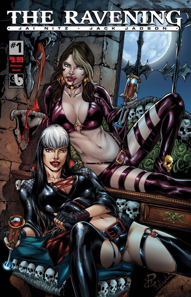 The Ravening #1 (KS Succubi Cover)