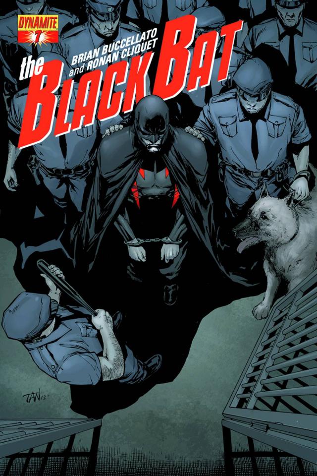 The Black Bat #7 (Tan Cover)