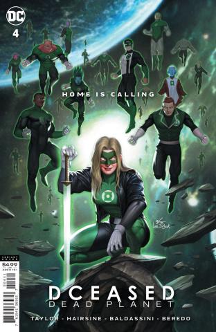 DCeased: Dead Planet #4 (Inhyuk Lee Movie Homage Card Stock Cover)