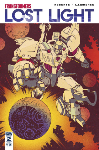 The Transformers: Lost Light #2 (Subscription Cover)