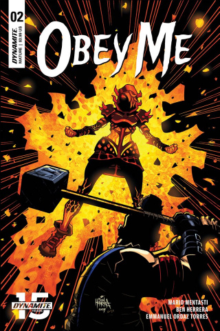 Obey Me #2 (Herrera Cover)