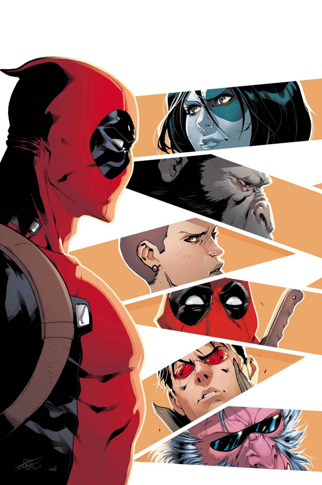 Deadpool and the Mercs For Money #5