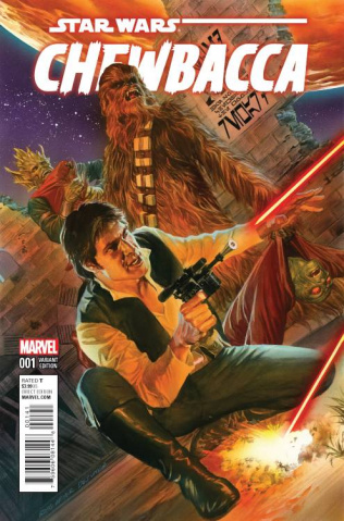 Chewbacca #1 (Ross Cover)
