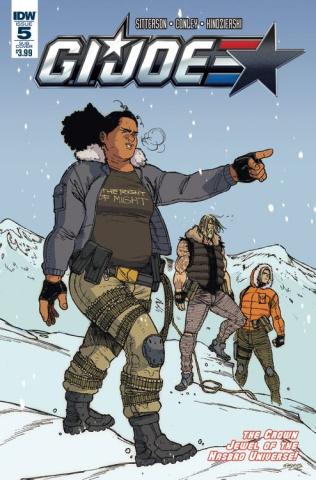 G.I. Joe #5 (Subscription Cover)