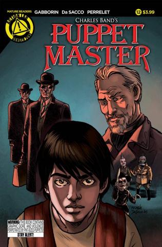 Puppet Master #12 (Da Sacco Cover)