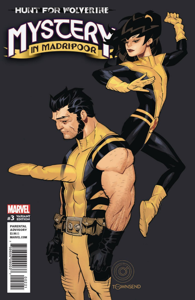 Hunt for Wolverine: The Mystery in Madripoor #3 (Bachalo Cover)