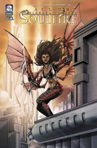 All New Soulfire #4 (Lorenzana Cover)