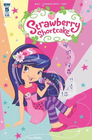 Strawberry Shortcake #5 (Scented Cover)