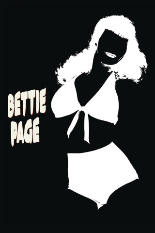 Bettie Page #1 (20 Copy Mooney Homage B&W Cover)