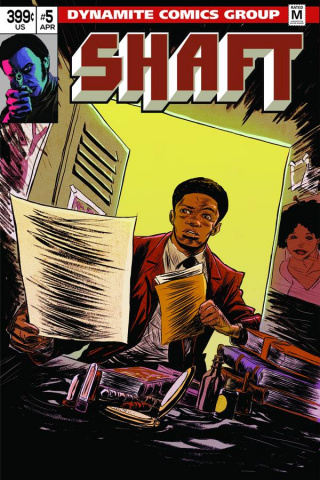 Shaft #5 (Greene Subscription Cover)