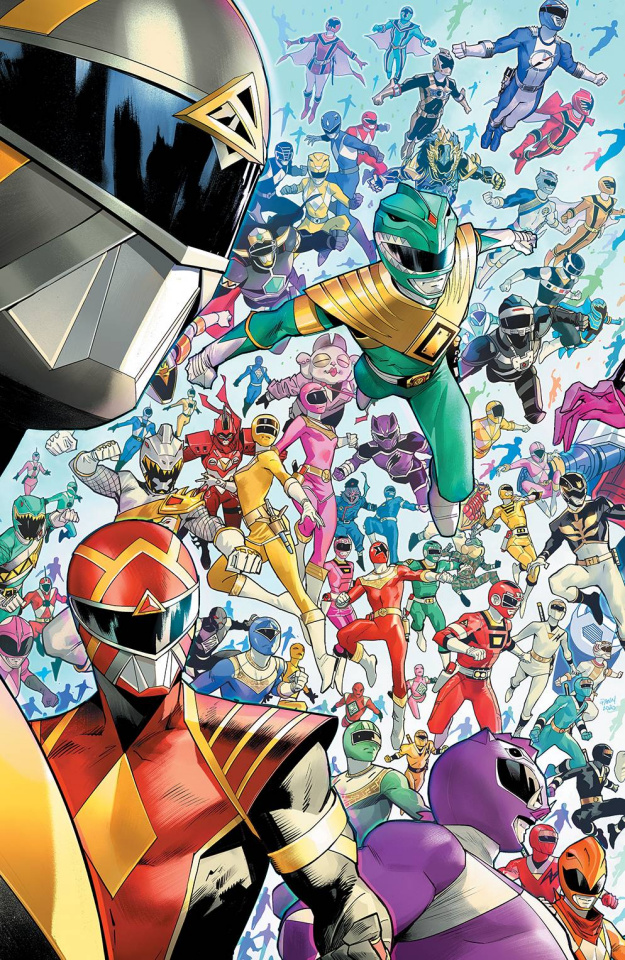 Mighty Morphin' #1 (10 Copy Mora Cover)