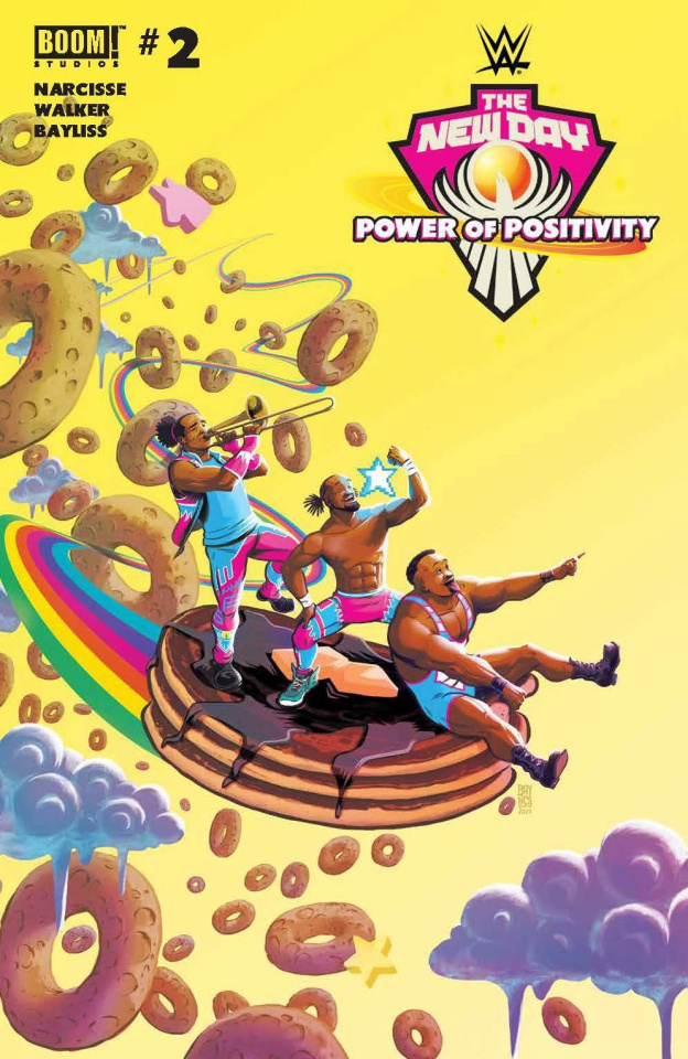 WWE: New Day - The Power of Positivity #2 (Bayliss Cover)