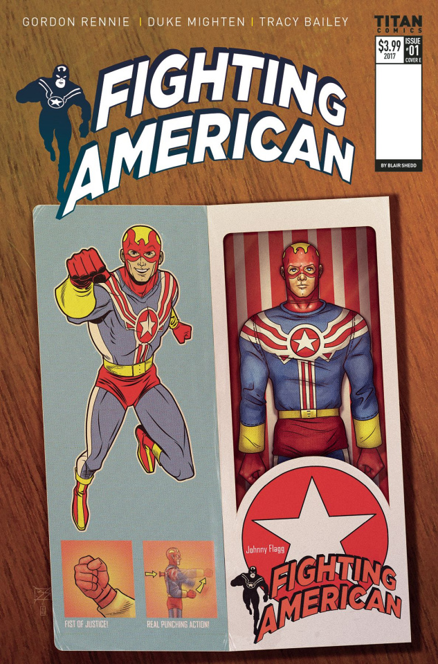 Fighting American #1 (Action Figure Cover)