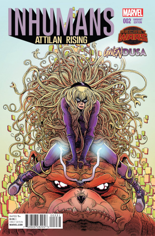 Inhumans: Attilan Rising #2 (Stokoe Gwendusa Cover)