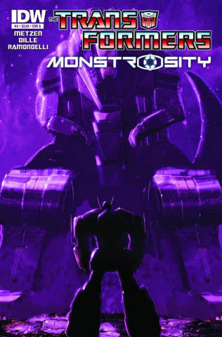 The Transformers: Monstrosity #4