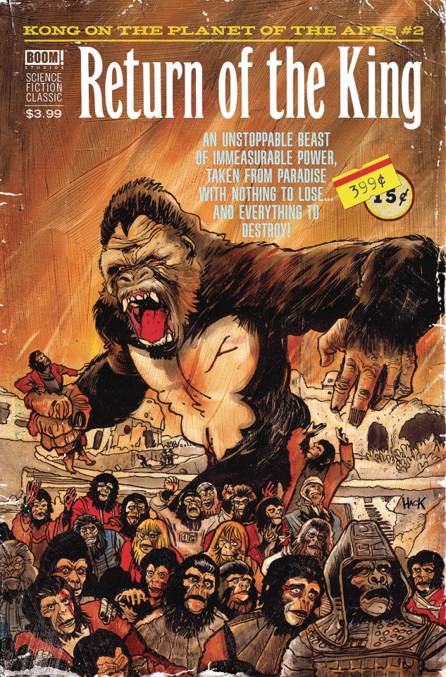 Kong on the Planet of the Apes #2 (Subscription Connecting Dalton Cover)