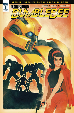 Transformers: Bumblebee Movie Prequel #1 (15 Copy Movie Cover)