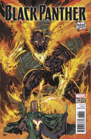 Black Panther #168 (Lashley Phoenix Cover)
