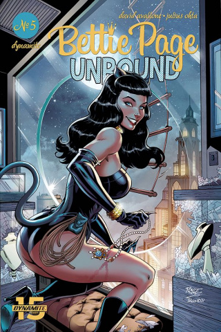 Bettie Page: Unbound #5 (Royle Cover)