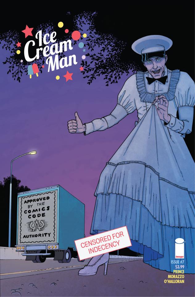 Ice Cream Man #7 (CBLDF Charity Censored Cover)