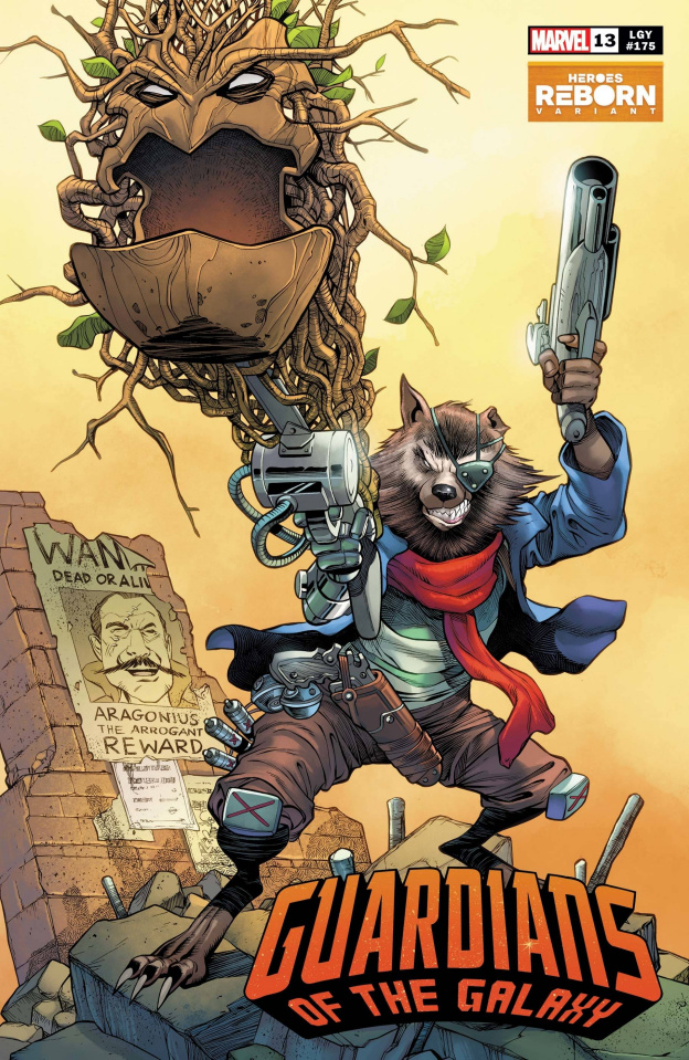 Guardians of the Galaxy #13 (Pacheco Reborn Cover)