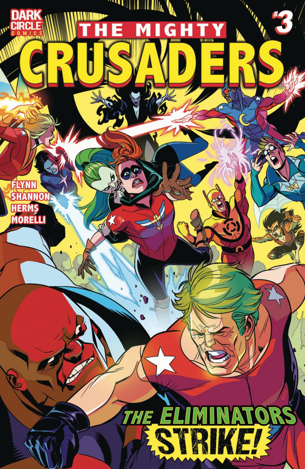 The Mighty Crusaders #3 (Shannon Cover)