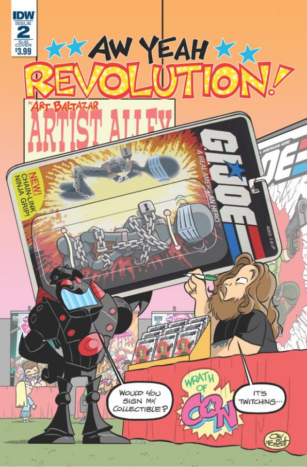 Revolution: Aw Yeah! #2 (Subscription Cover)