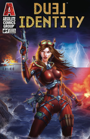 Duel Identity #1 (White Widow Cover)