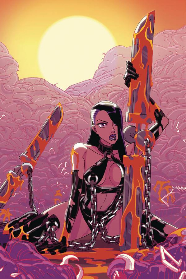 Vampblade #50 (Winston Young Virgin Variant)