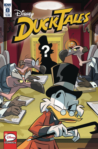 DuckTales #8 (Ghiglione Cover)