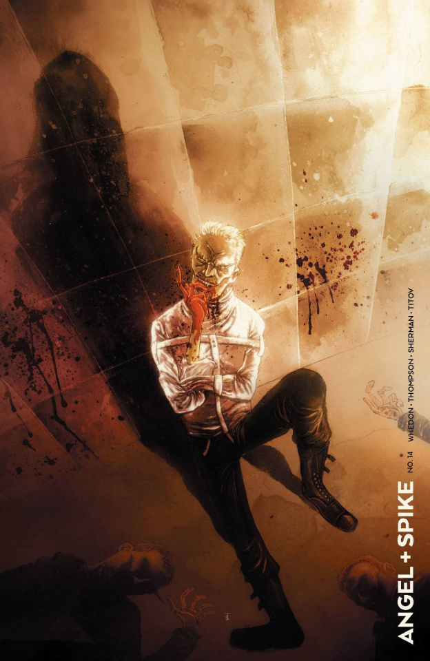 Angel & Spike #14 (20 Copy Templesmith Cover)