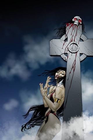 Vampirella: Trial of the Soul (Sears Virgin Cover)