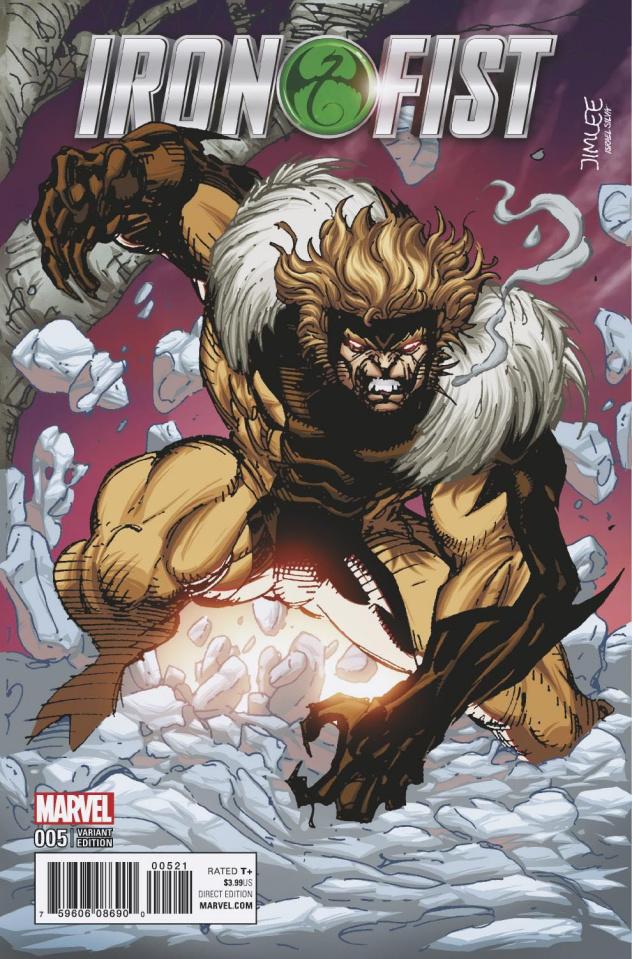 Iron Fist #5 (X-Men Card Cover)