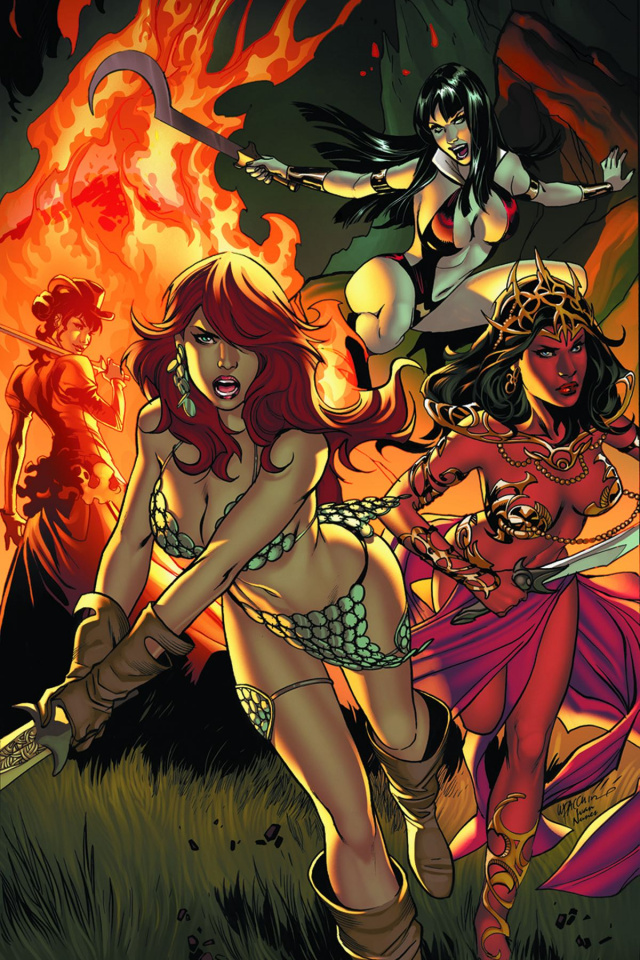 Swords of Sorrow #4 (Rare Lupacchino Virgin Cover)