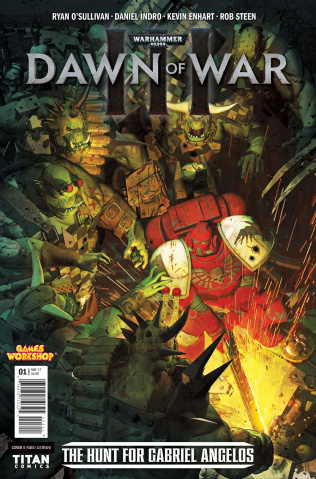Warhammer 40,000: Dawn of War III #1 (McGill Cover)