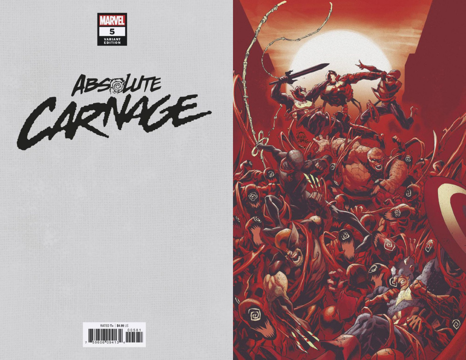 Absolute Carnage #5 (Stegman Virgin Cover)