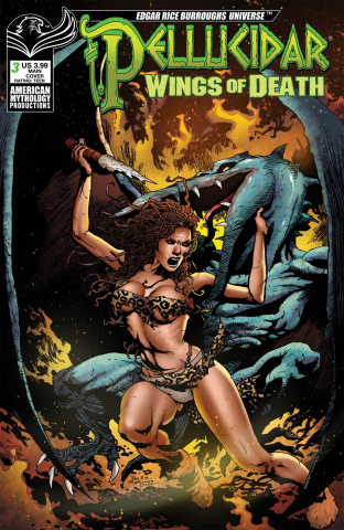 Pellucidar: Wings of Death #3 (Martinez Cover)